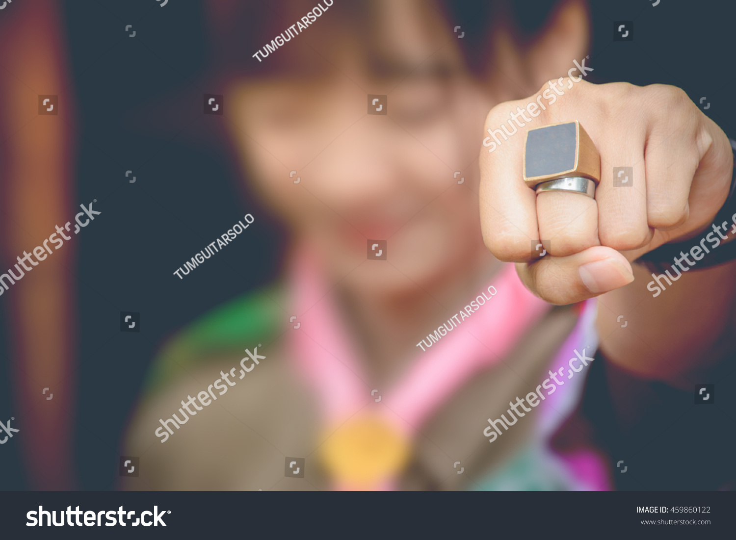 Girl Hand Love Ring Stock Photo 459860122 - Shutterstock