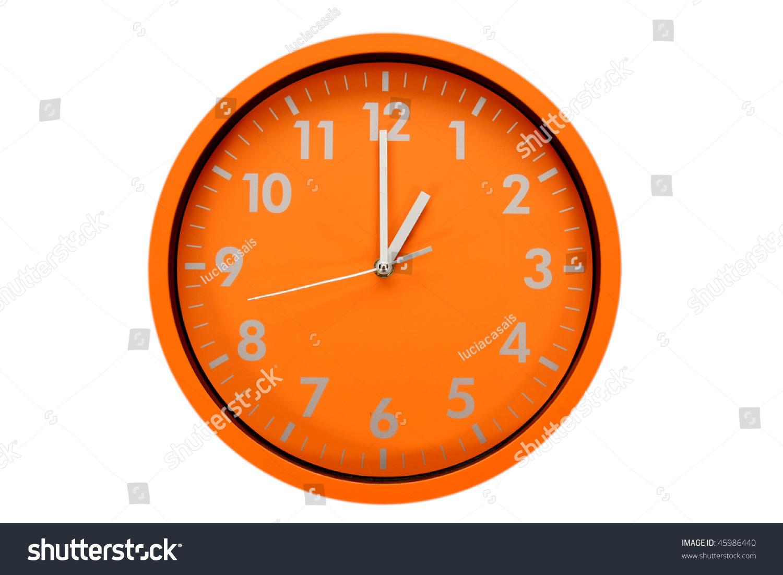 Beautiful clock on wall 01h 13h stock photo 45986440 shutterstock beautiful clock on the wall 01h 13h amipublicfo Gallery