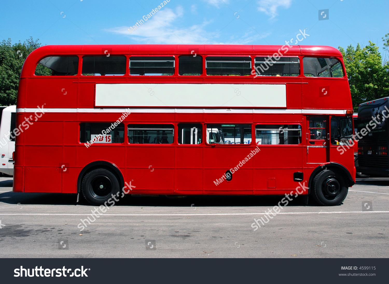 red bus stock photo 4599115   shutterstock