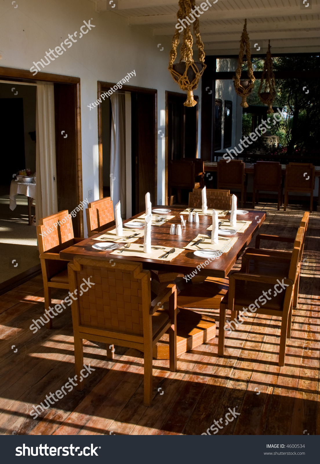 Dining Room Table Set For Dinner dining table set dinner stock photo 4600534 - shutterstock