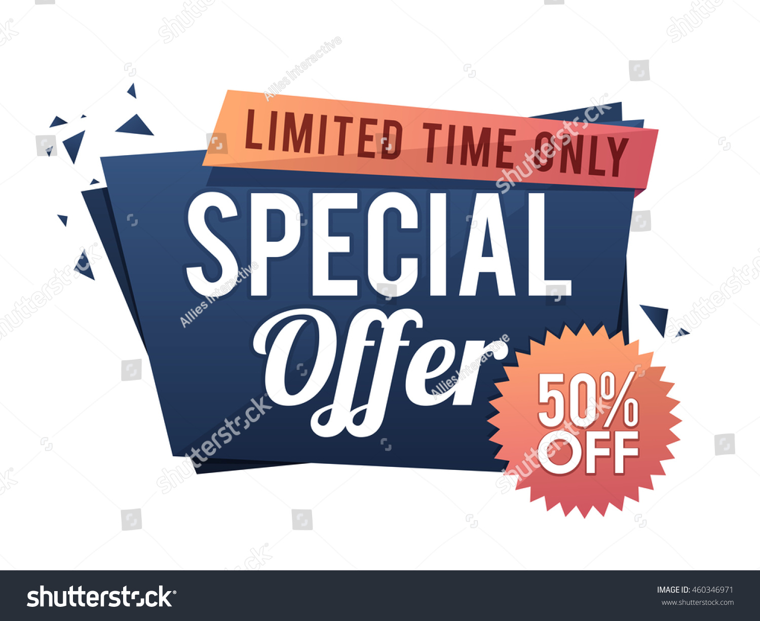 581153507 Special Offer Sale 50 Off Limited Stock Vector (Royalty Free ...