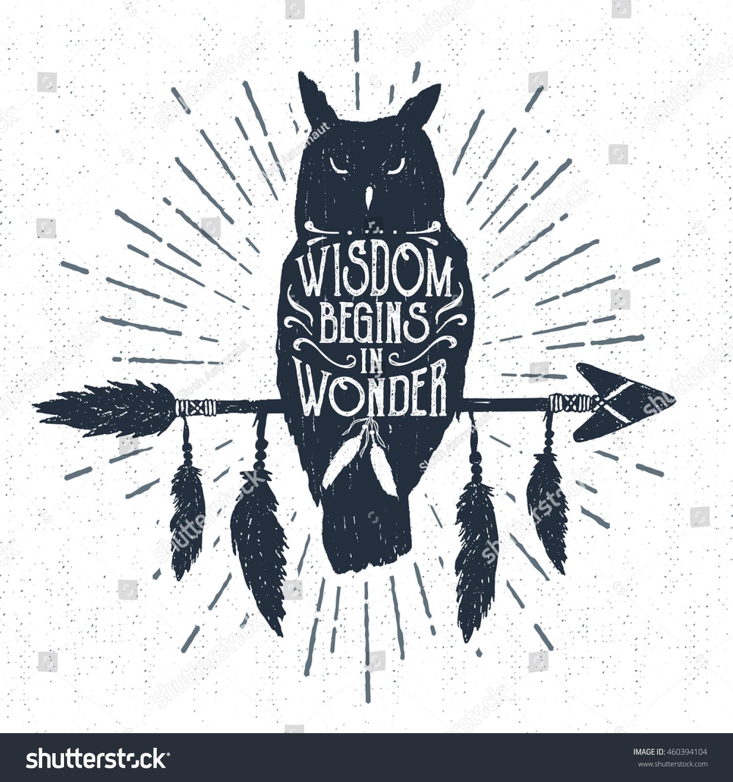 100 owl bird tribal stock vector http thumb7 for Tattoo shops in wichita ks