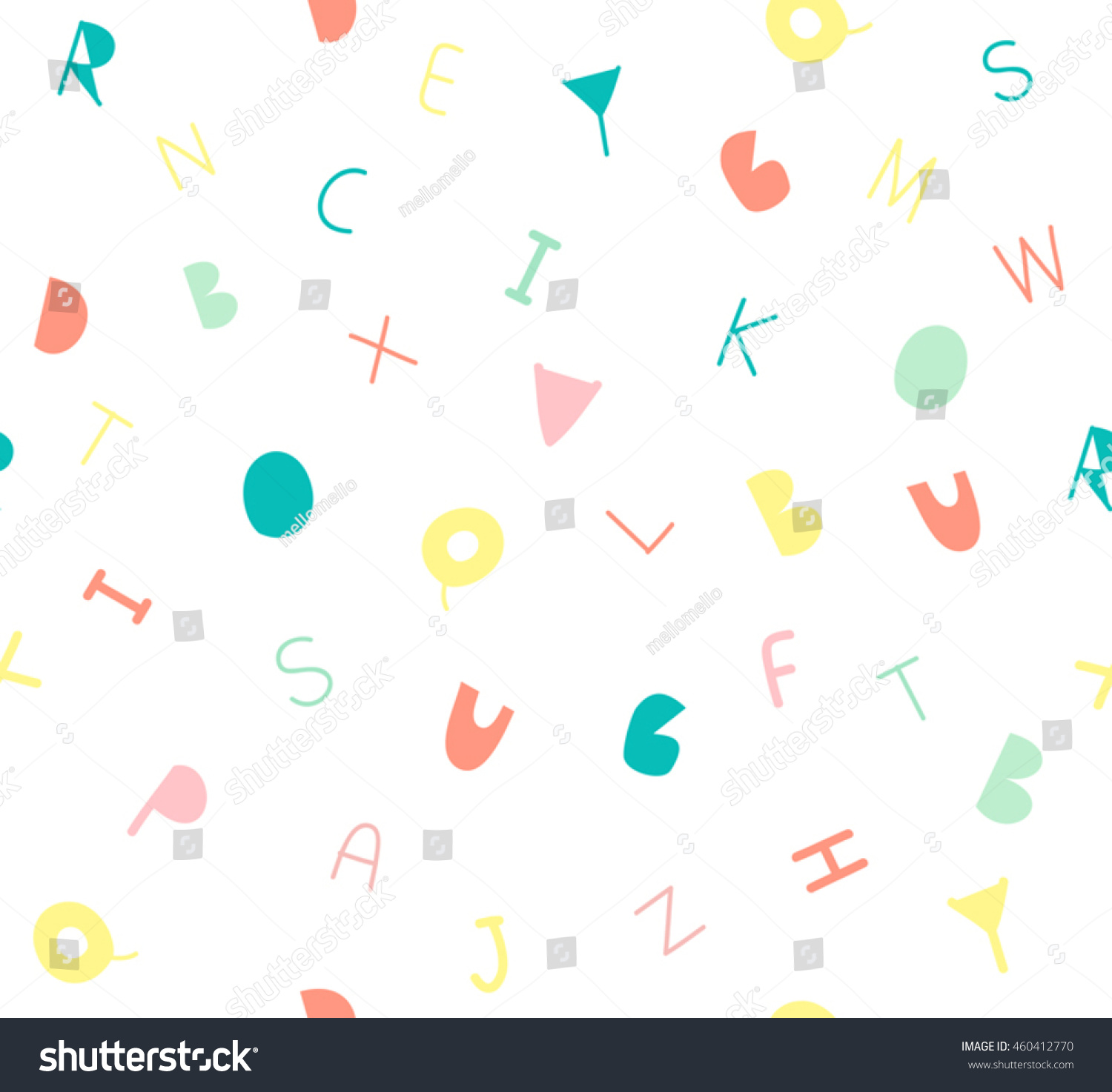 cute letter b c kids design stock vector royalty free 460412770