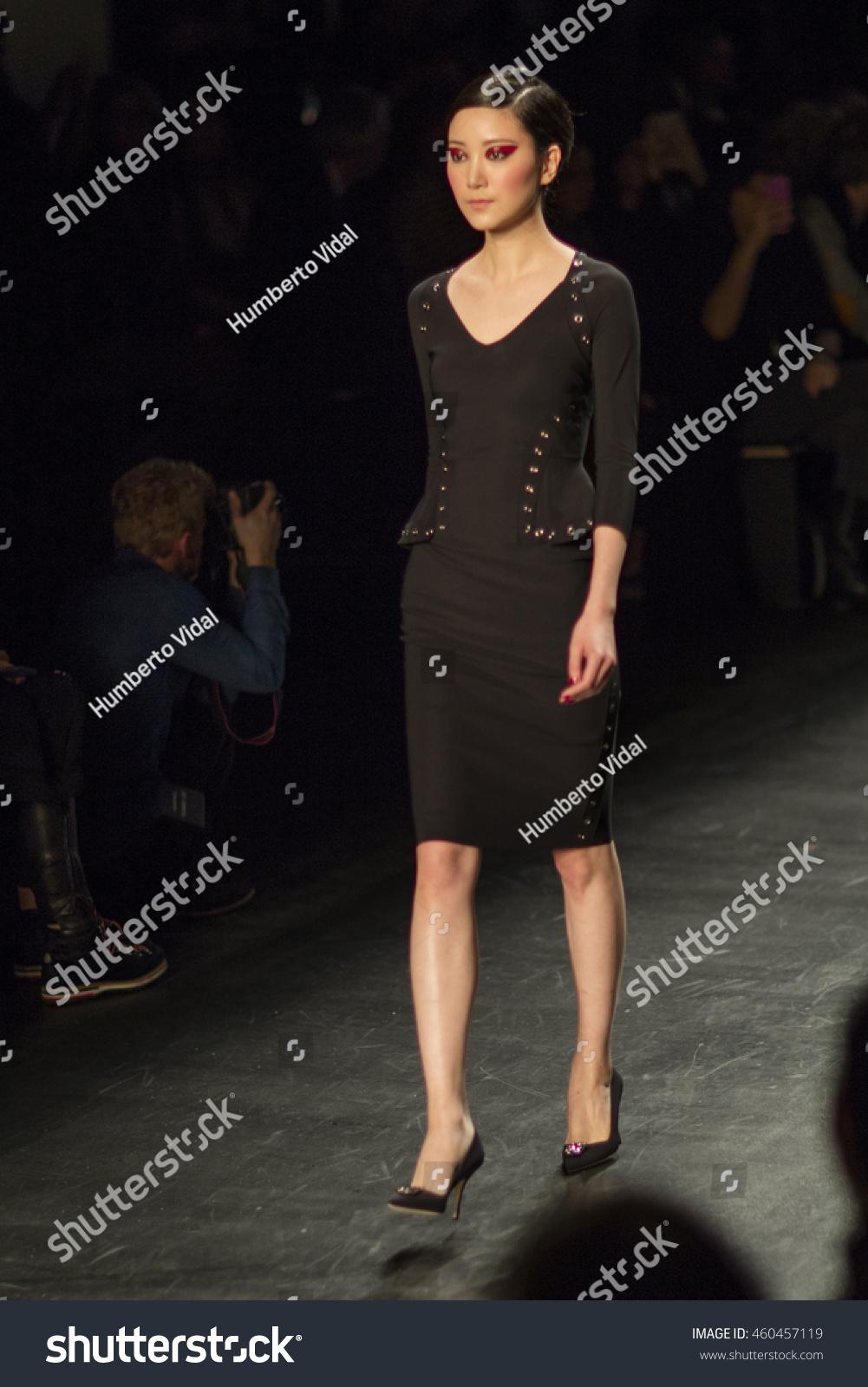 0aa875ffd8cb2 A model walks the runway for Chiara Boni La Petite Robe Fall 2016 Fashion  Show during