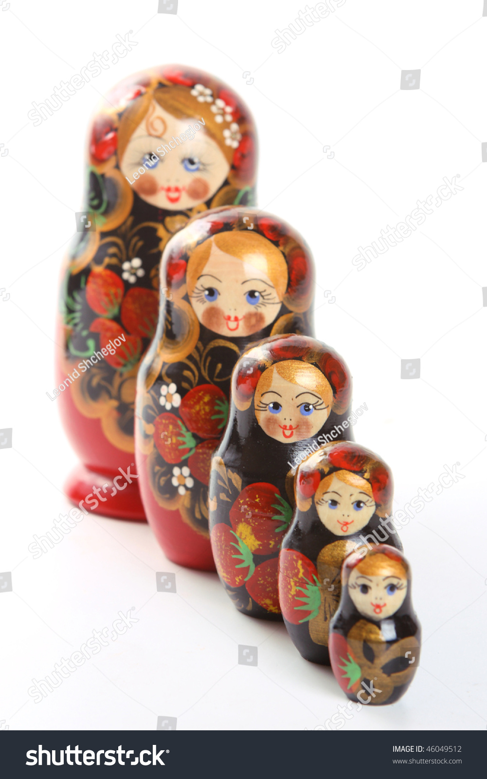 Russian Nesting Dolls Also Known 46