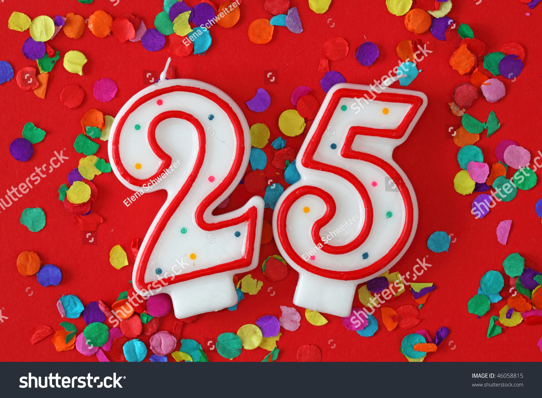 Поздравление с др девушке на 25 лет