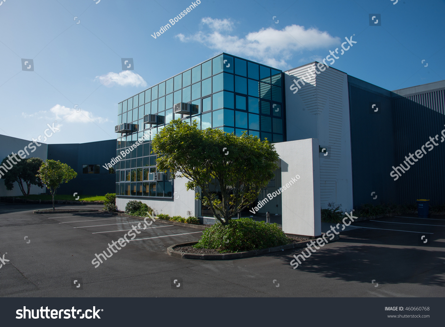 Small modern office building stock photo 460660768 for Small modern buildings