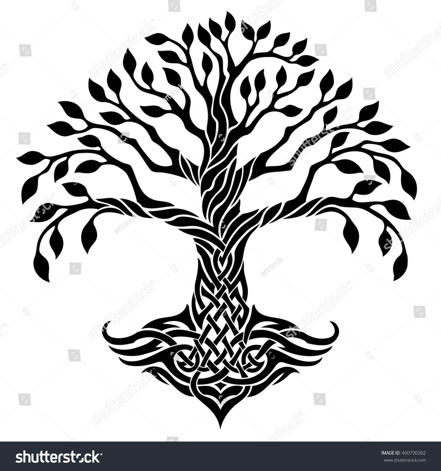 Intertwined Trees Clip Art | www.imgkid.com - The Image ...