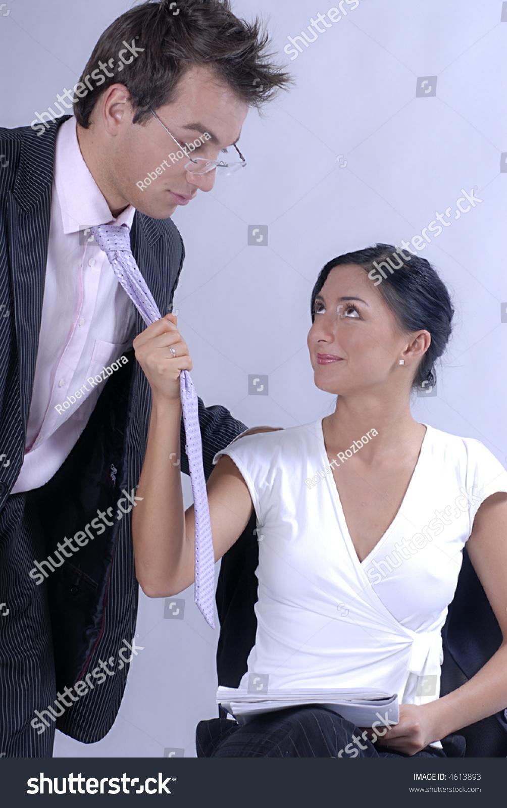 Couple seduces