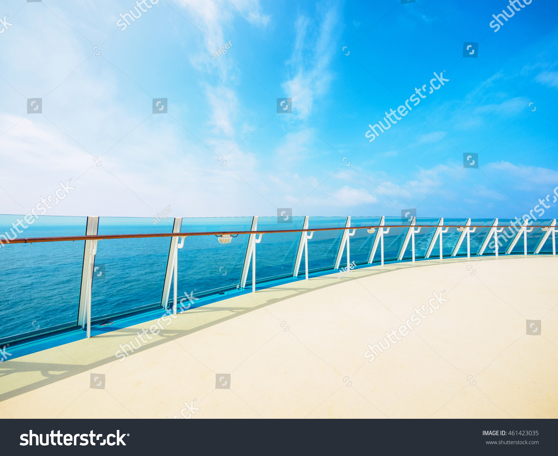 deck luxury cruise ship stock photo 461423035 shutterstock