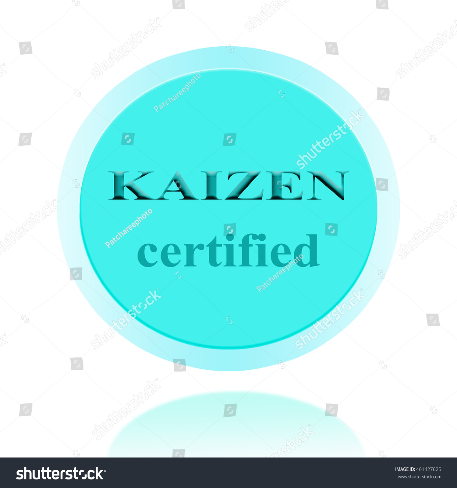 Kaizen certified icon symbol image concept stock illustration kaizen certified icon or symbol image concept design for business and use in company system 1betcityfo Gallery