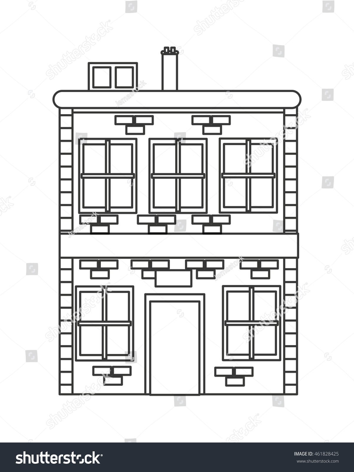 Imageshutterstock Z Stock Vector Flat