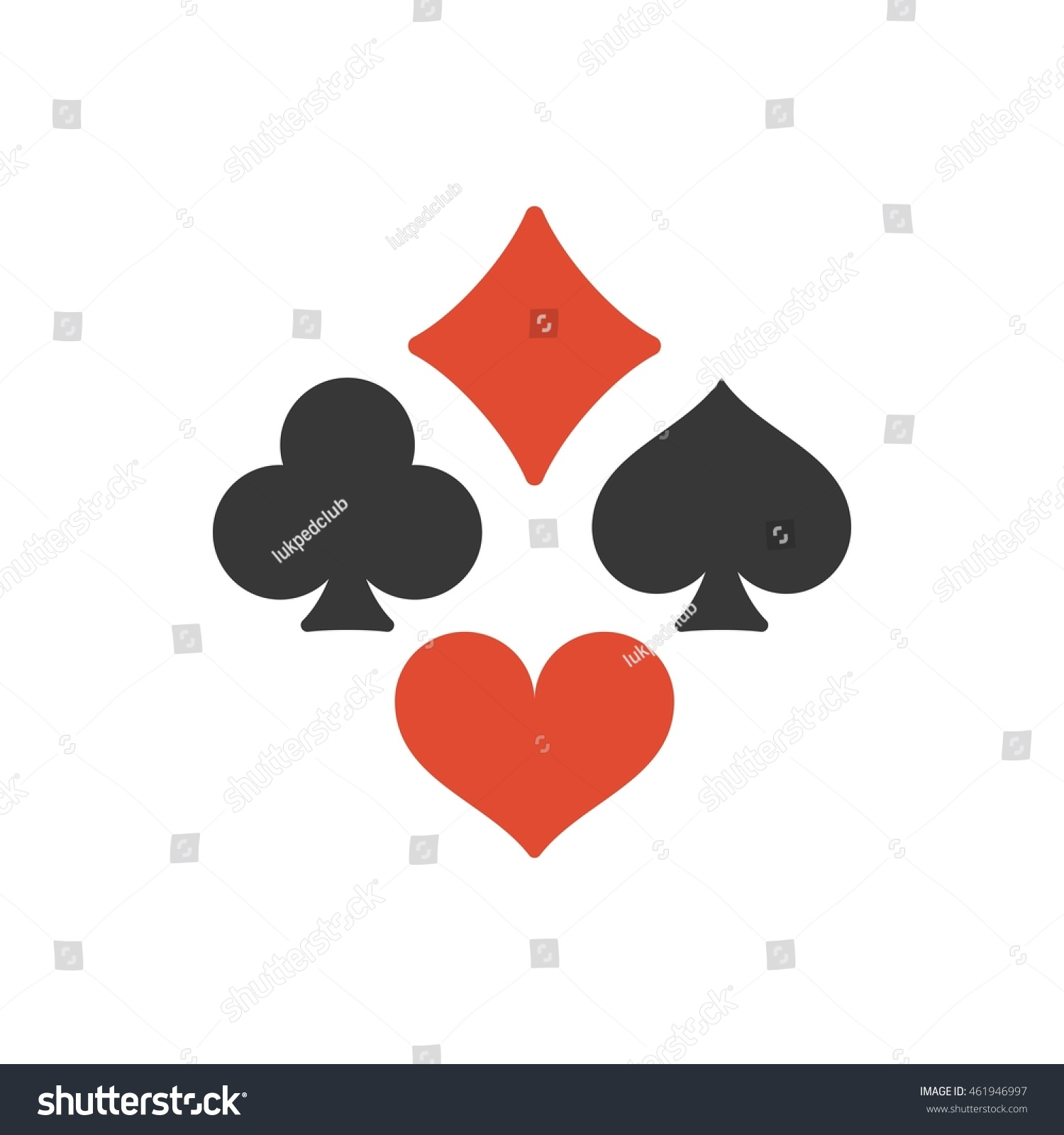 Card suit symbols font choice image symbol and sign ideas vector four playing cards suits symbols stock vector 461946997 vector four playing cards suits symbols spades biocorpaavc