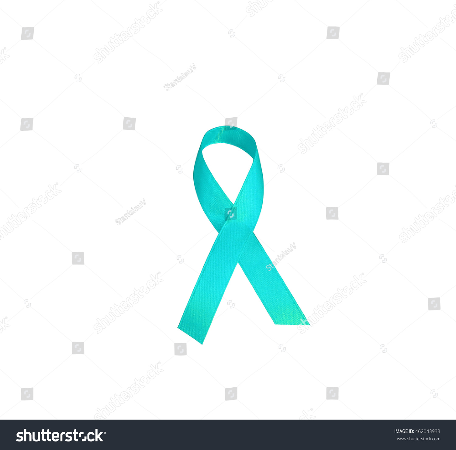 Turquoise awareness ribbon support people ovarian stock photo turquoise awareness ribbon to support people with ovarian cancer concept questions assistance and actions biocorpaavc