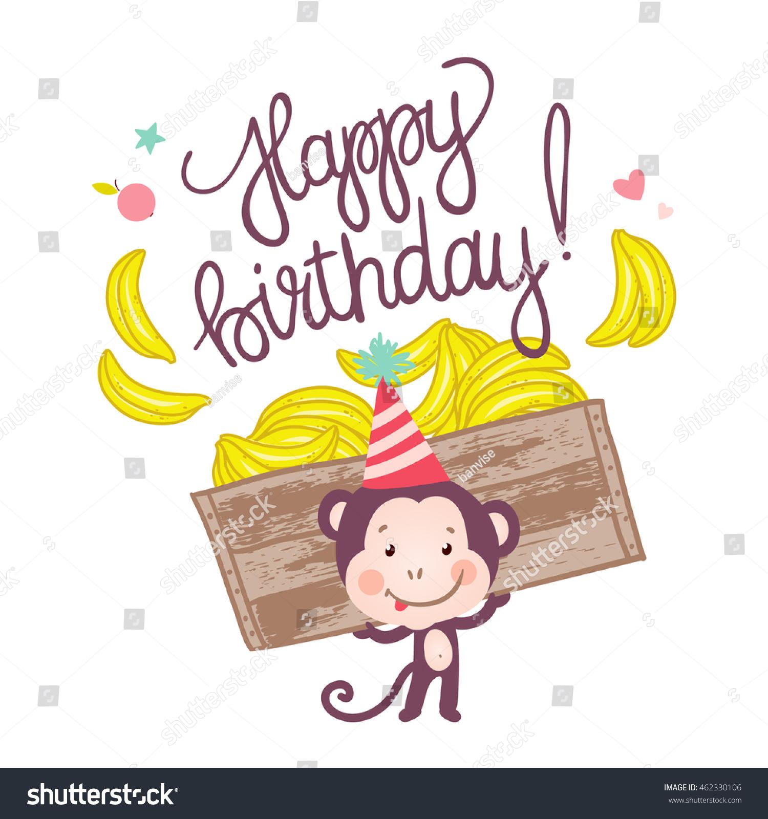 Happy Birthday Card Monkey