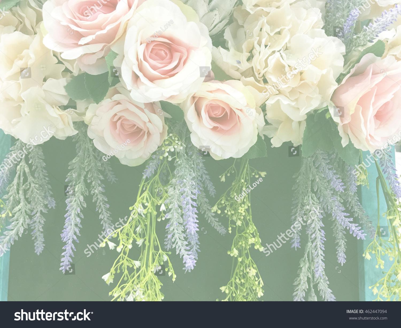 Ivy Flowers Wedding Bouquet Rose Bush Stock Photo Edit Now