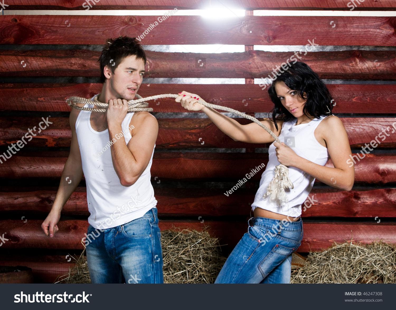 Связать веревкой женщину 9 фотография