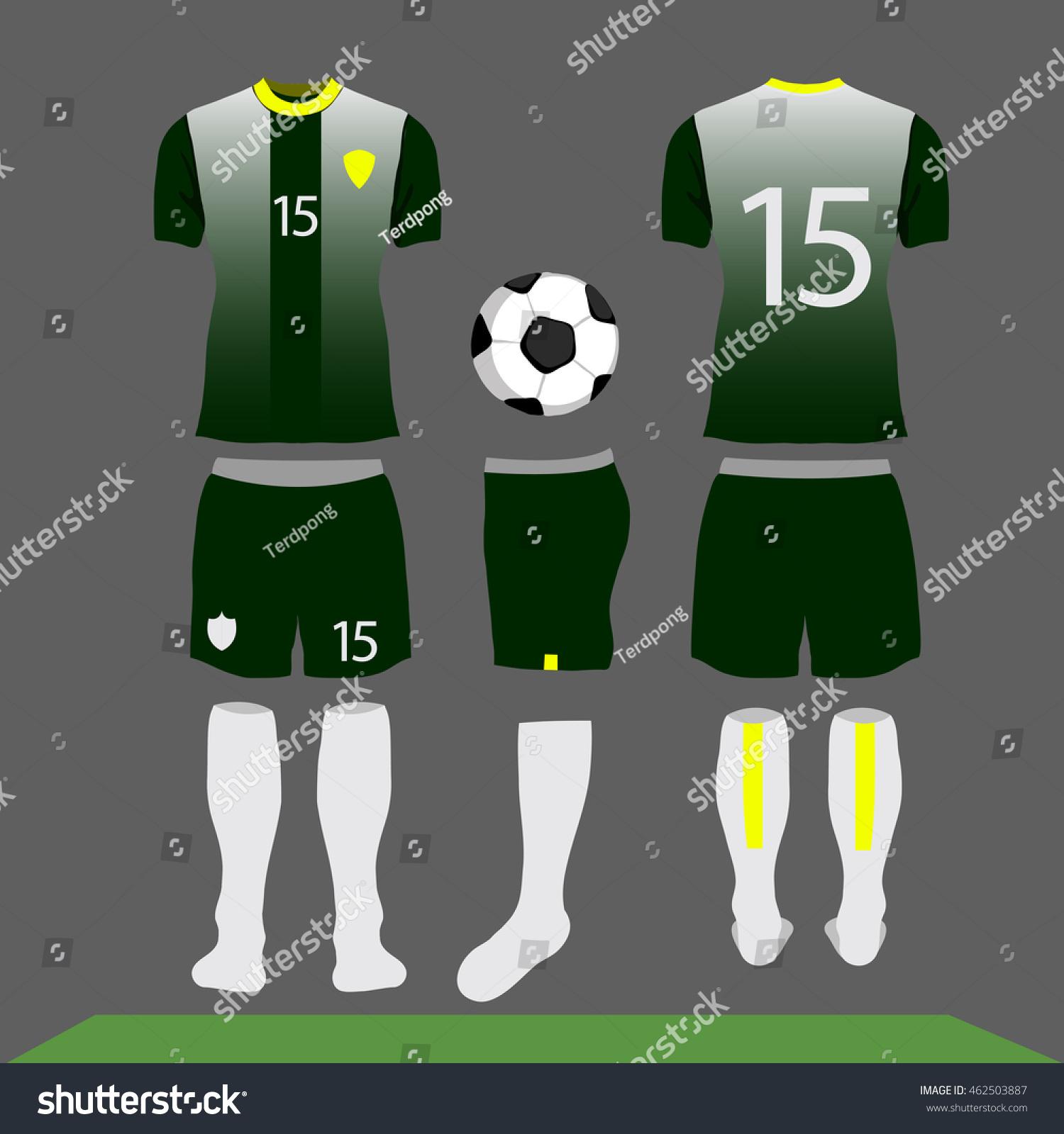 Royalty Free Football Kit Design Shirt Soccer 462503887 Stock