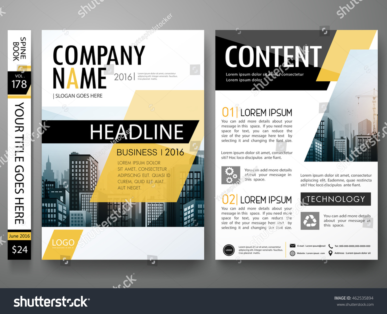 book report brochure template - brochure design template vector business flyers stock