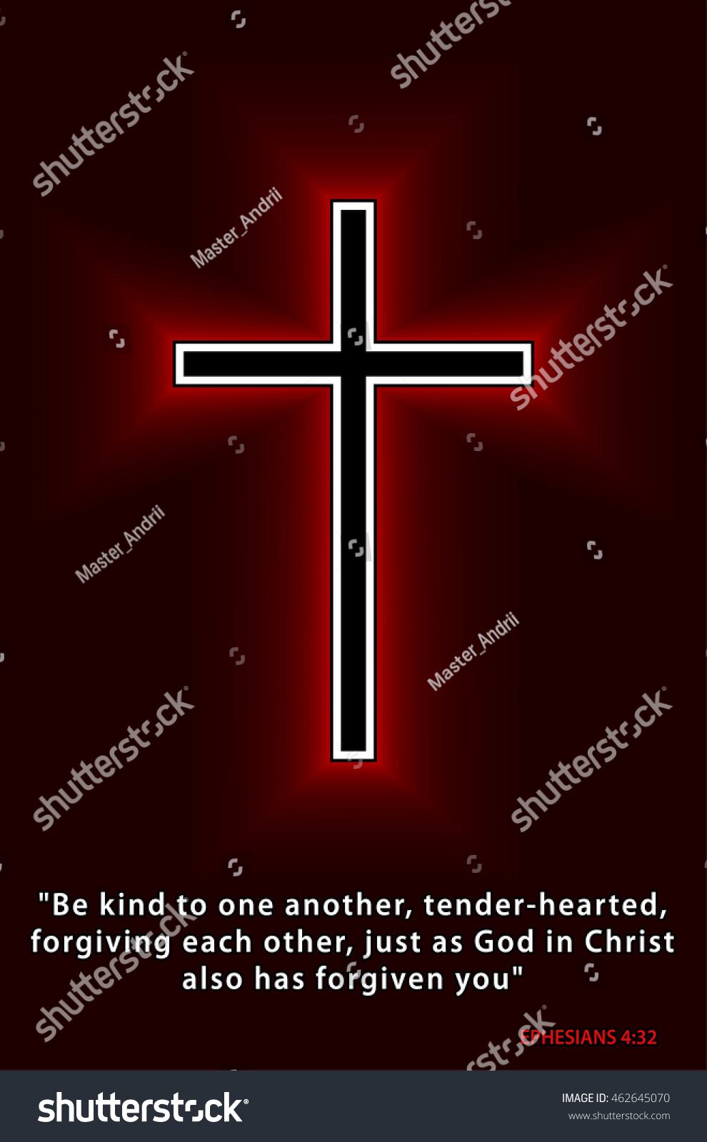 Best bible verses everyone should know stock vector 462645070 best bible verses everyone should know glowing christian cross isolated over black background vector buycottarizona Images