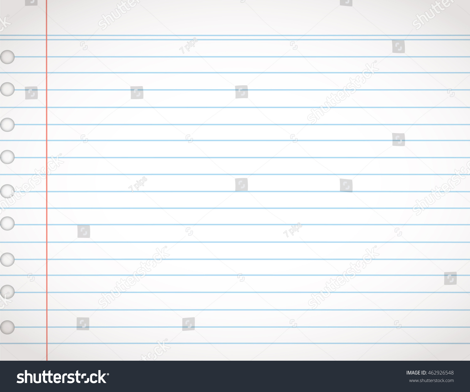 Paper Line Vector Background Detailed Lined Vector 462926548 – Line Paper Background