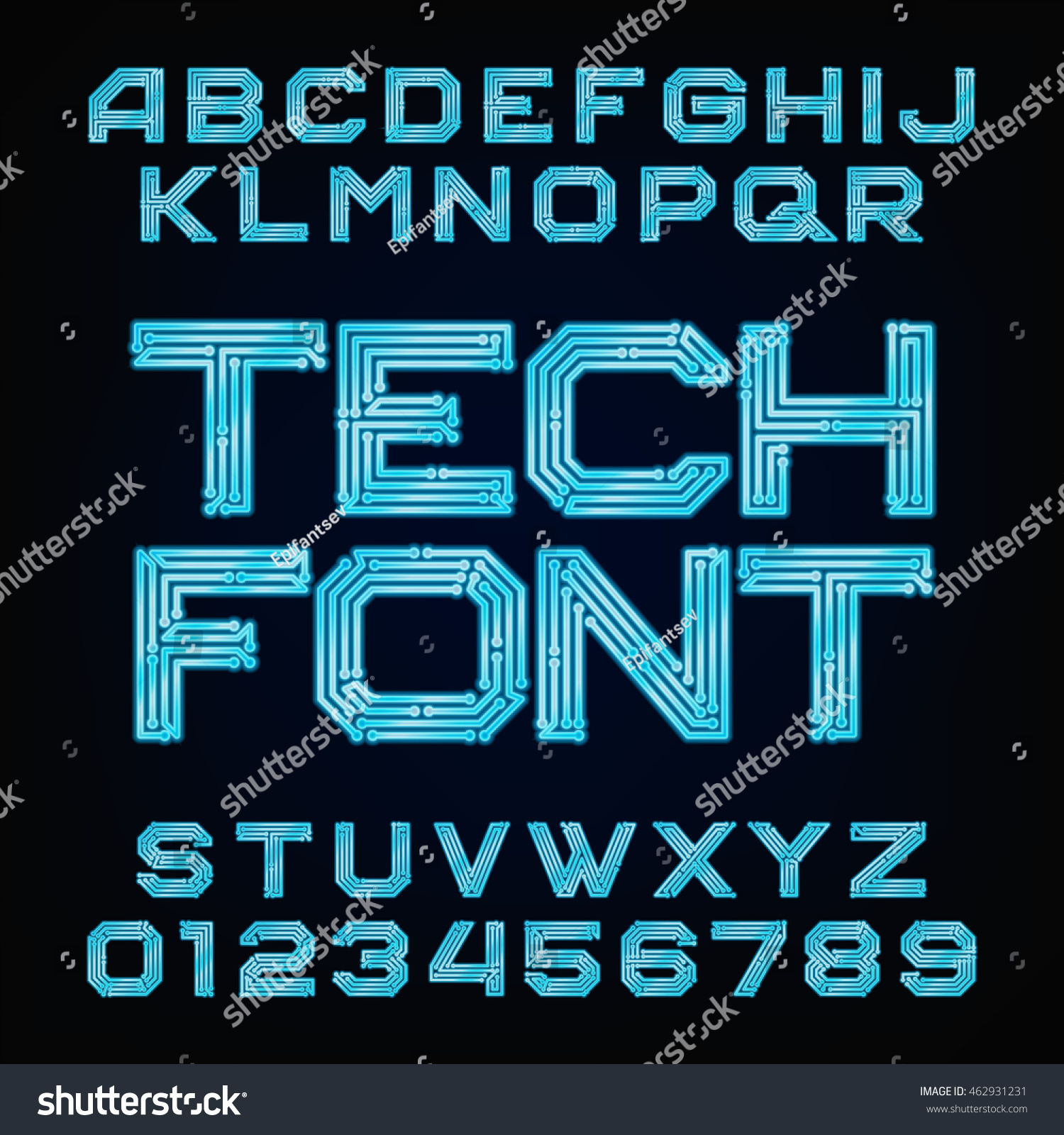 how to create a font digitally