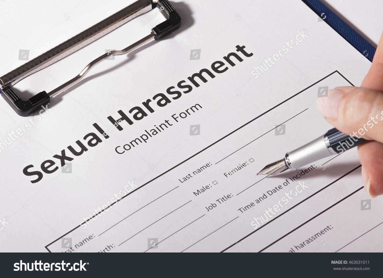 Handling Sexual Harassment Complaints