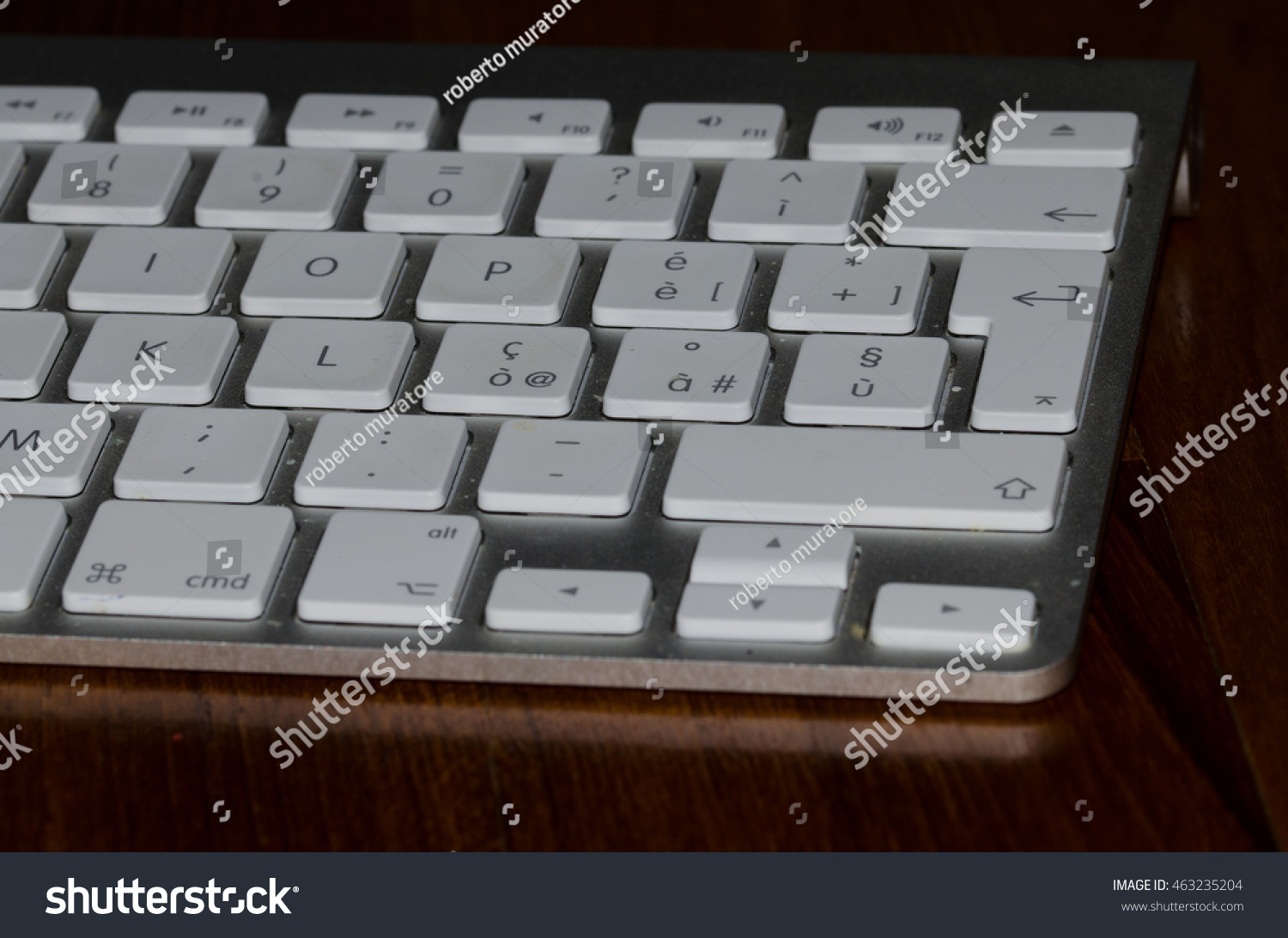 Computer Keyboard Office Special Keys Stock Photo (Edit Now