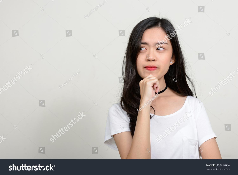 Teen girls throat Asian