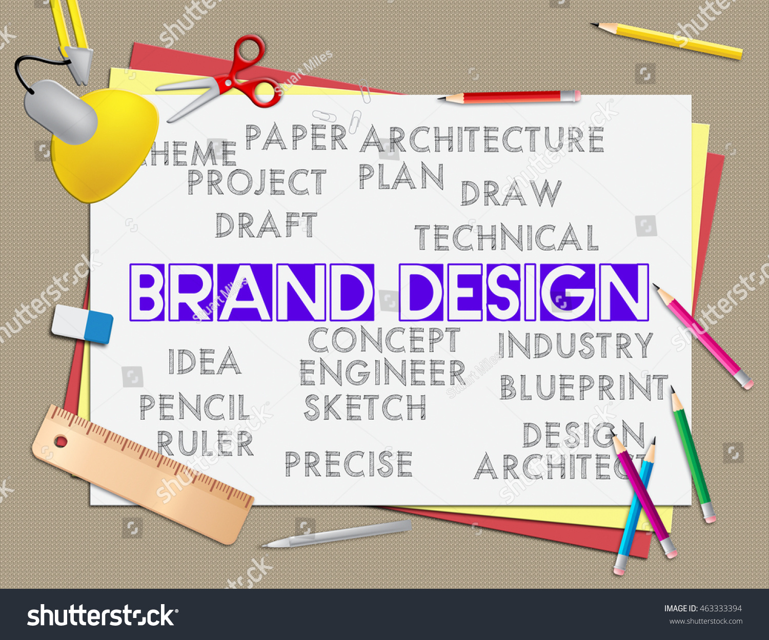 Brand design meaning company identity branded stock illustration brand design meaning company identity and branded malvernweather Gallery