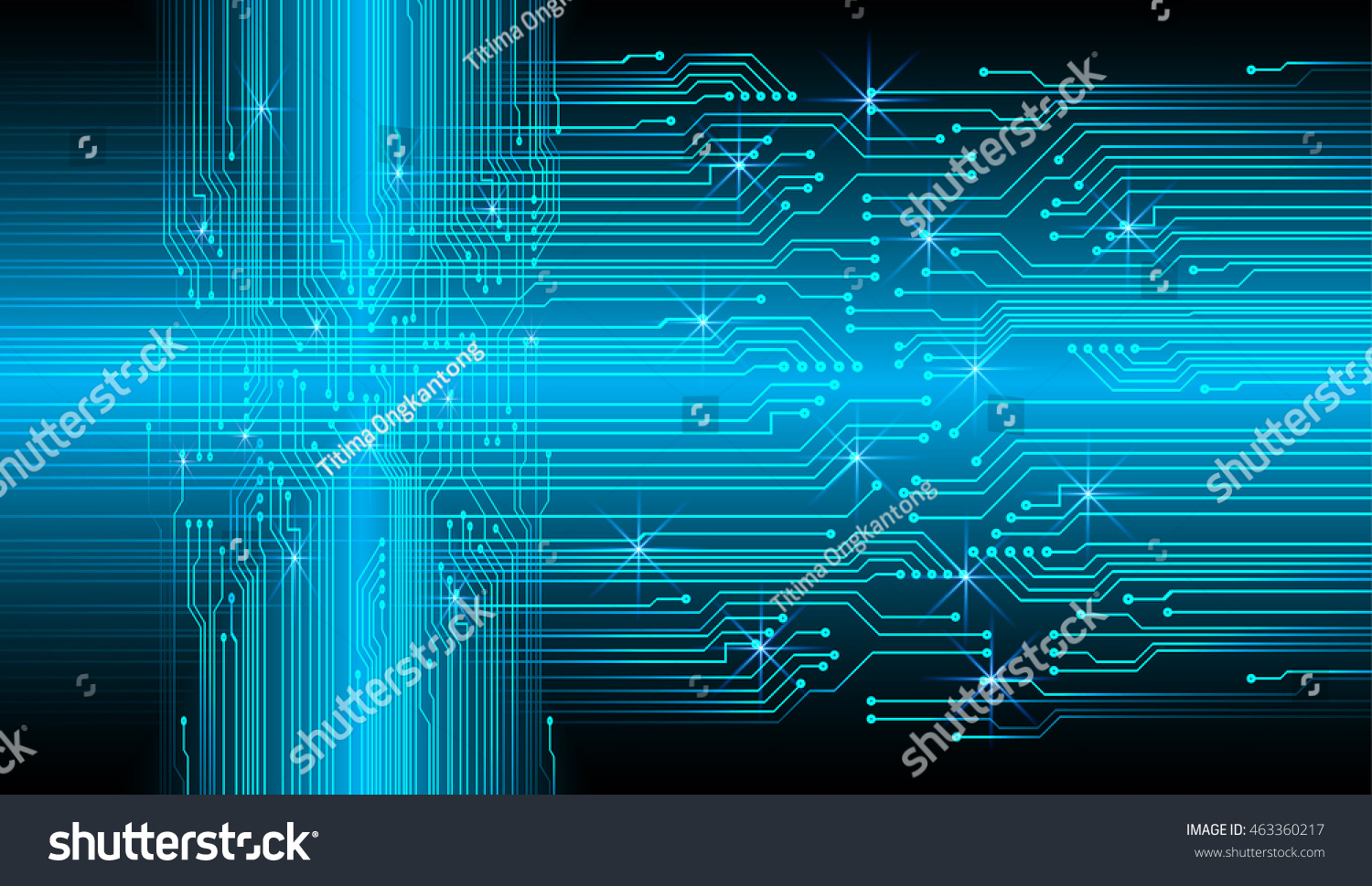 Blue Abstract Cyber Future Technology Concept Background Abstact With Circuit Board And Binary Code Stock Images Id 463360217