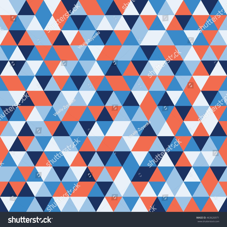Colorful Tile Background Illustration Triangle Geometric Stock ...