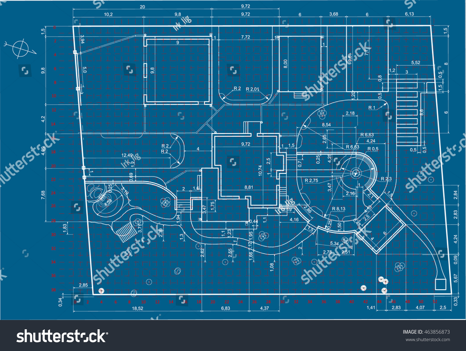 Architectural background urban blueprint landscape design section urban blueprintndscape design section malvernweather Images