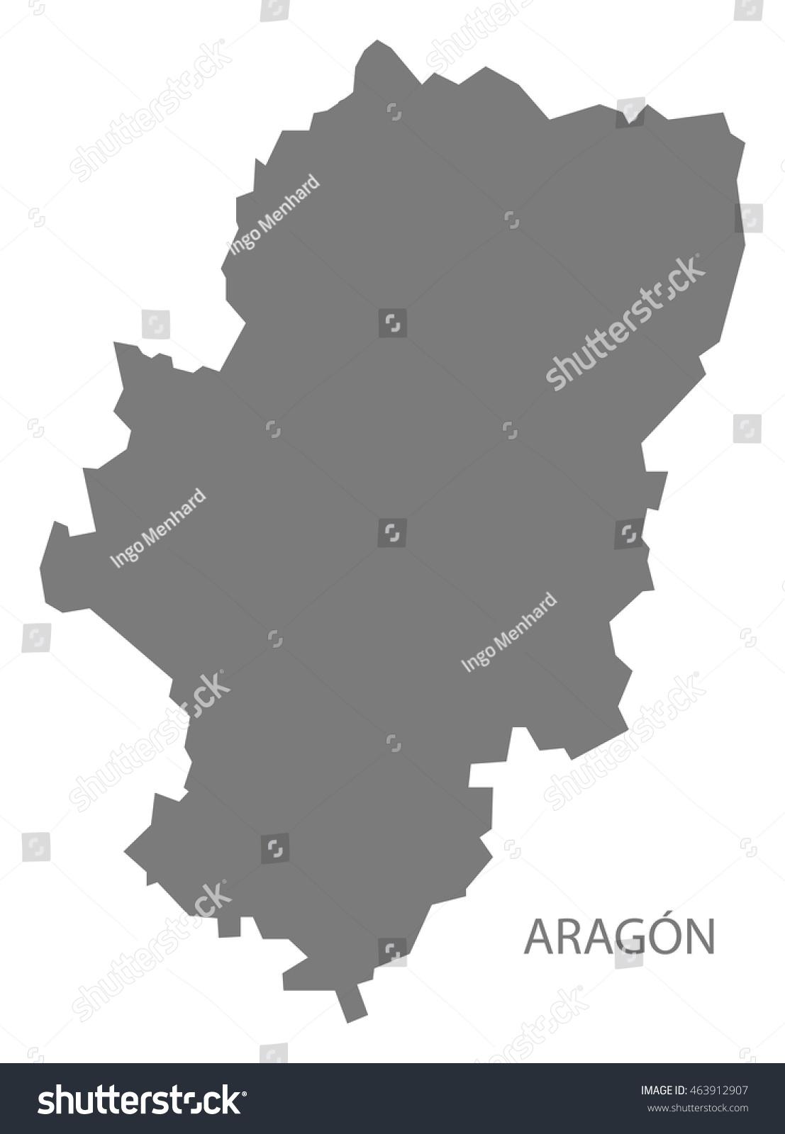 Map Aragon Spain Ez Canvas