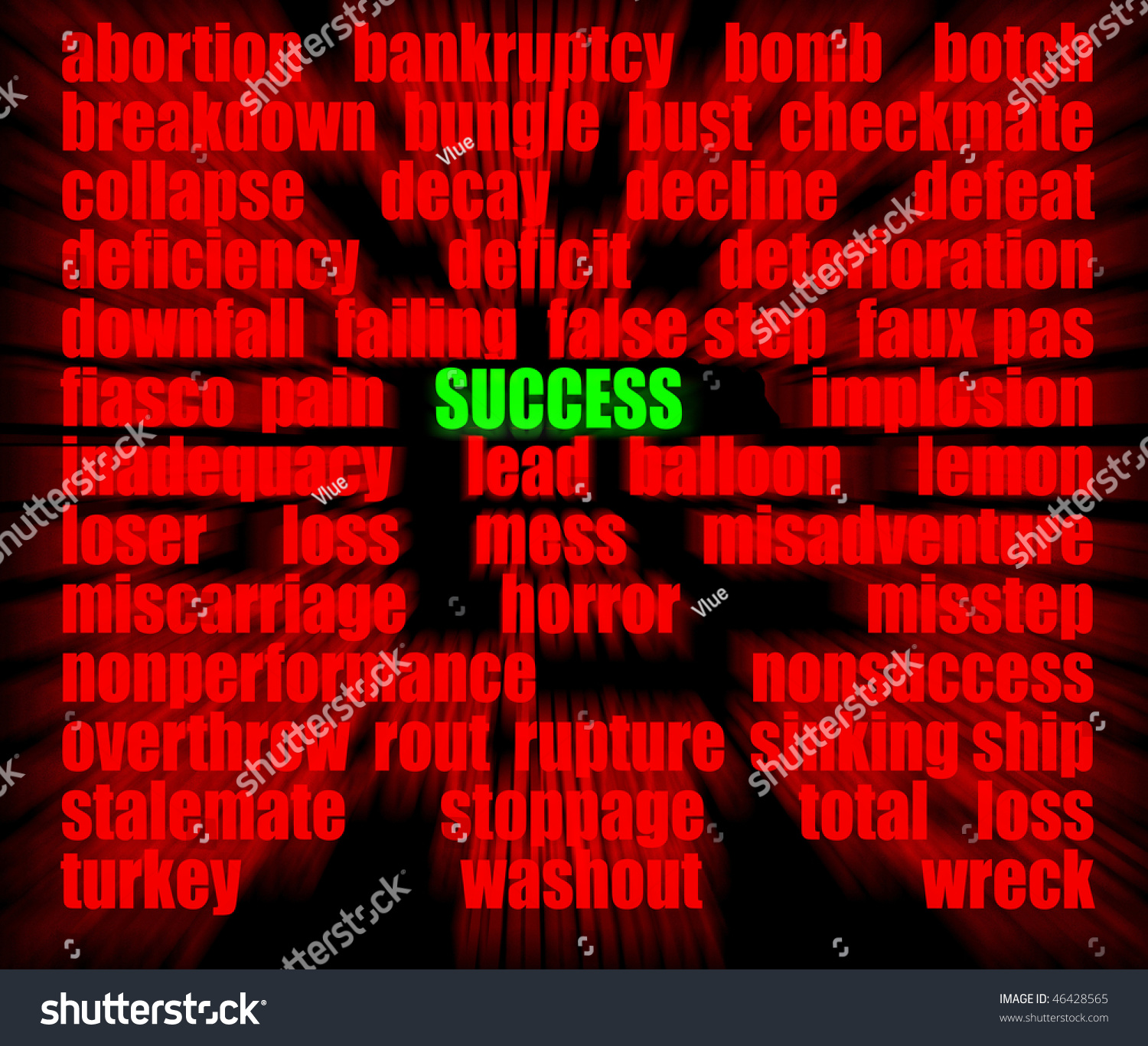Success surrounded by antonyms stock illustration 46428565 success surrounded by its antonyms biocorpaavc