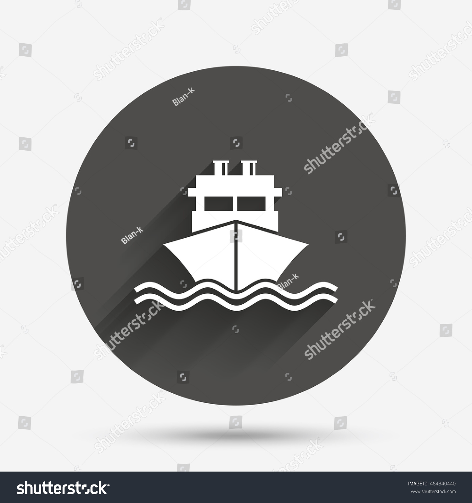 Ship boat sign icon shipping delivery stock illustration 464340440 ship or boat sign icon shipping delivery symbol with chimneys or pipes circle buycottarizona