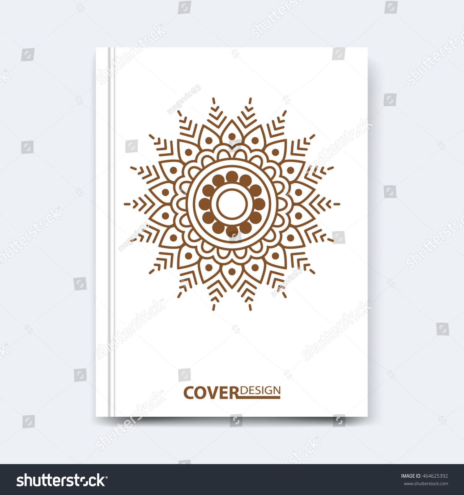 abstract vector n floral or nt ethnic stock vector abstract vector n floral or nt ethnic mandala design for cover poster banner