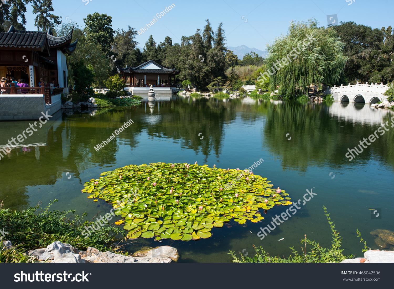 August   San Marino Ca Stock Photo