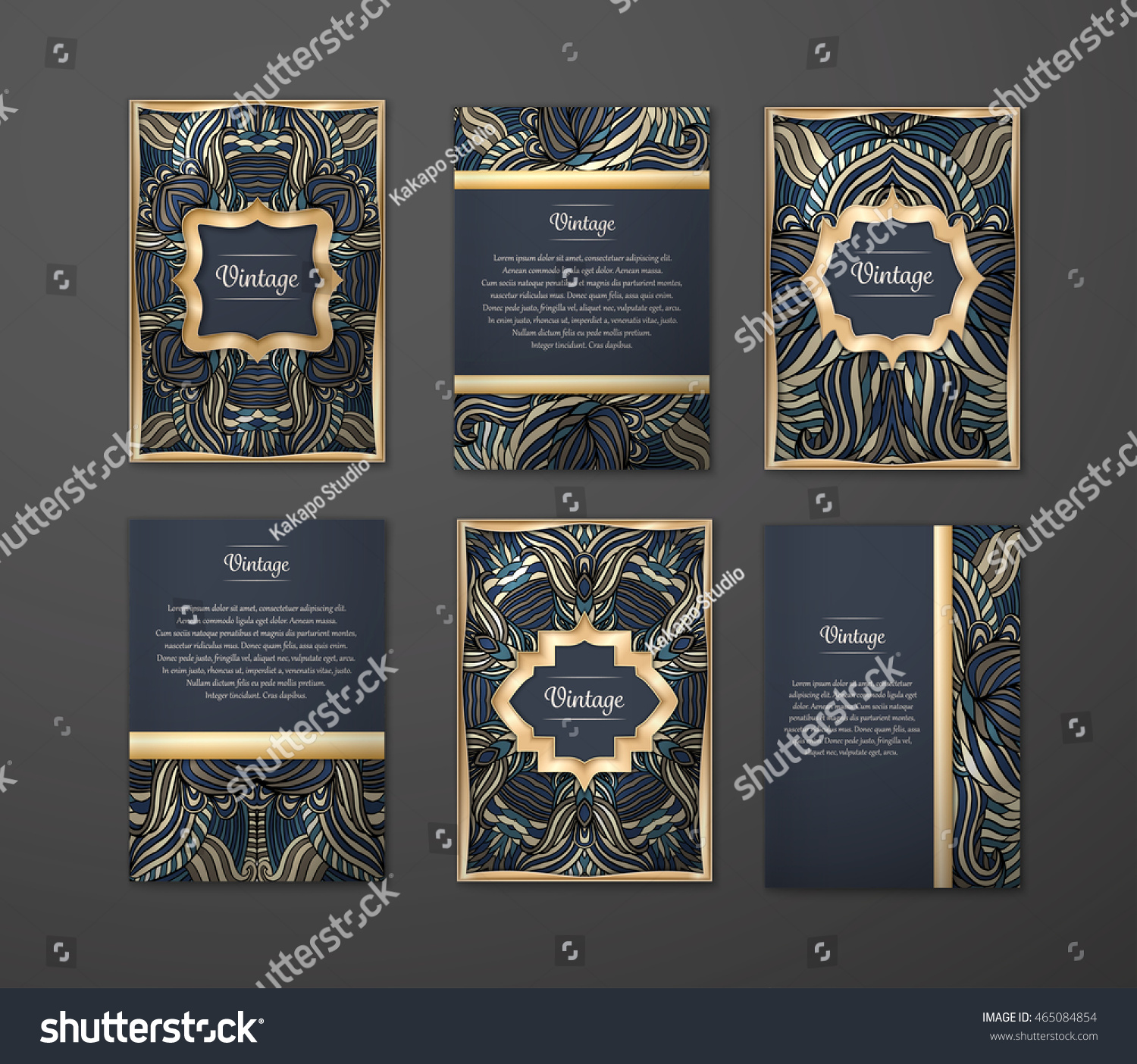 Set Coloful Flyers Brochures Templates Design Vector – Flyers and Brochures Templates