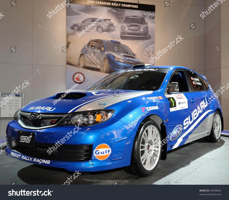 Champion Motors International: Toronto-February 11: Subaru Sti Canadian Rally Champion At