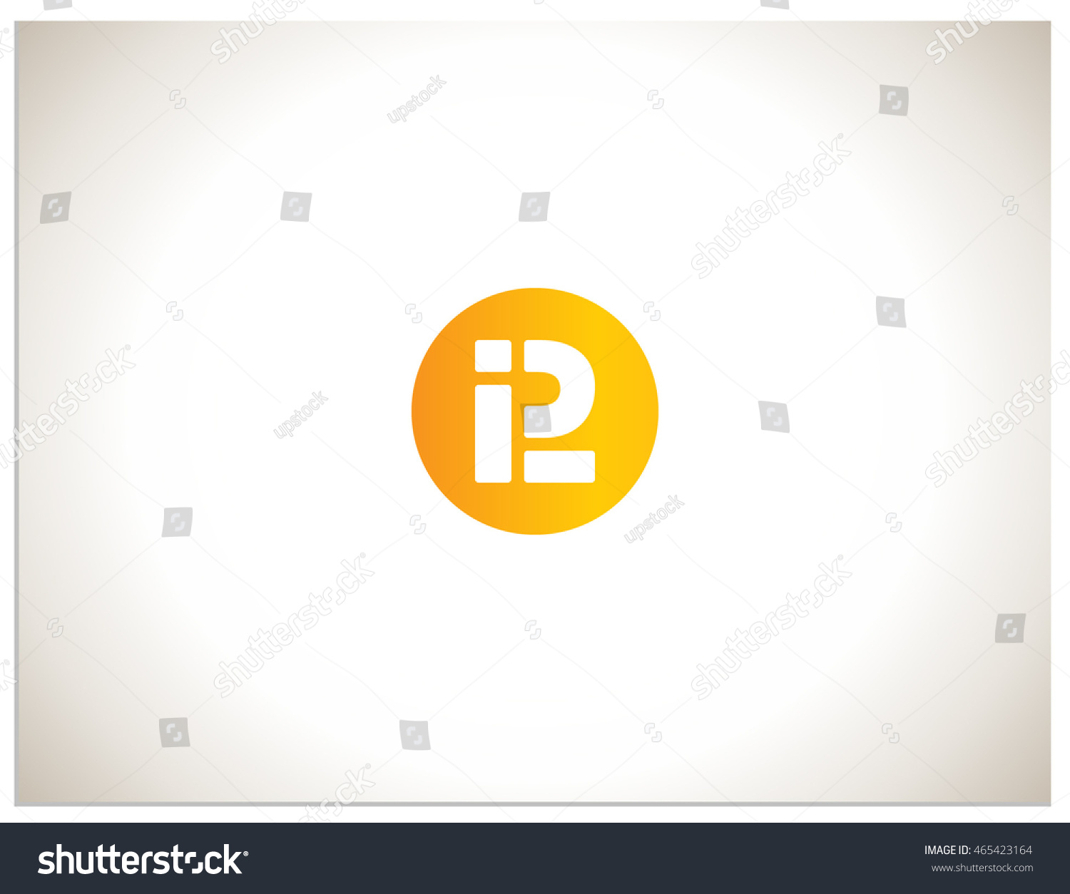 Text logo which consists abbreviations p stock vector 465423164 text logo which consists of abbreviations i p and l placed in a circle biocorpaavc