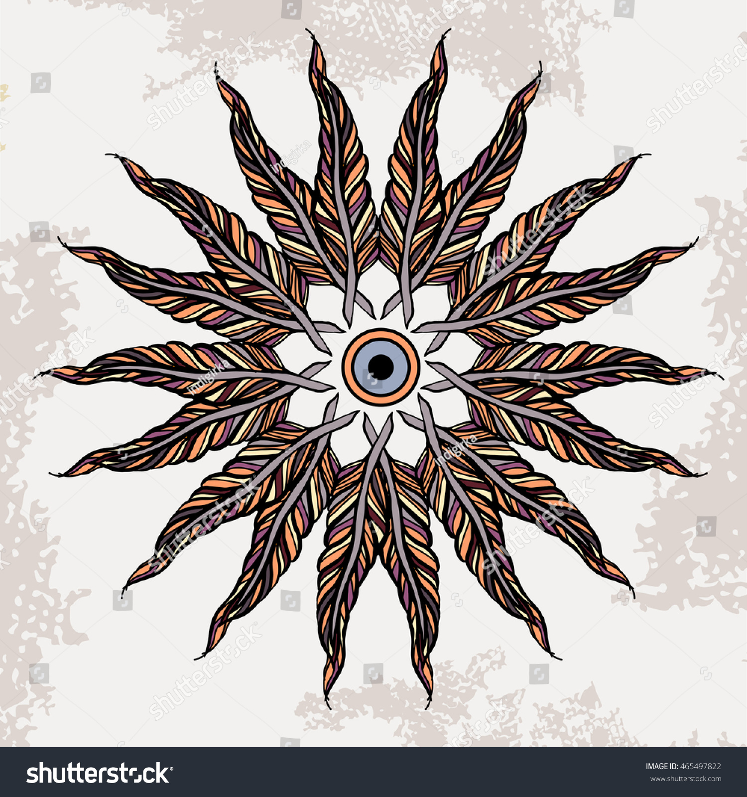 American Indian Design Element Can Be Stock Vector Royalty Free