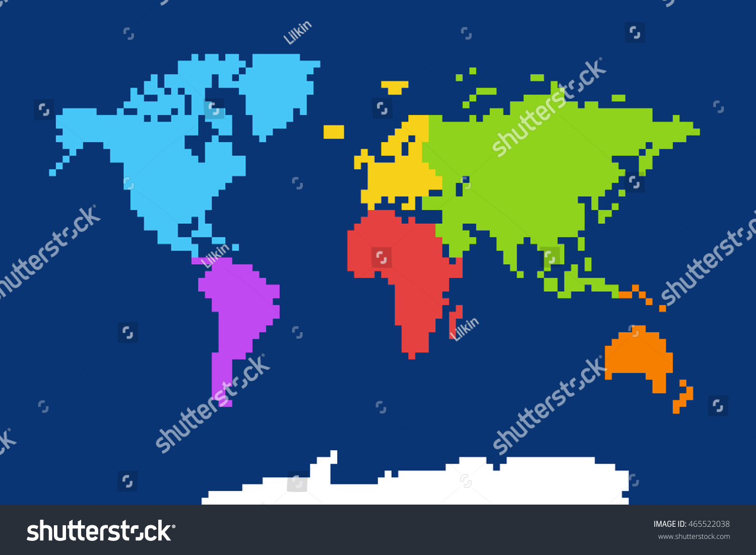 show me a map of africa with Colored World Map Pixel Art Vector 465522038 on Mini Guide El Jadida Morocco besides Maps together with 2007 Toyota Siyaya ID15UZf5 in addition Colored World Map Pixel Art Vector 465522038 as well Perissa Hotels 1390.