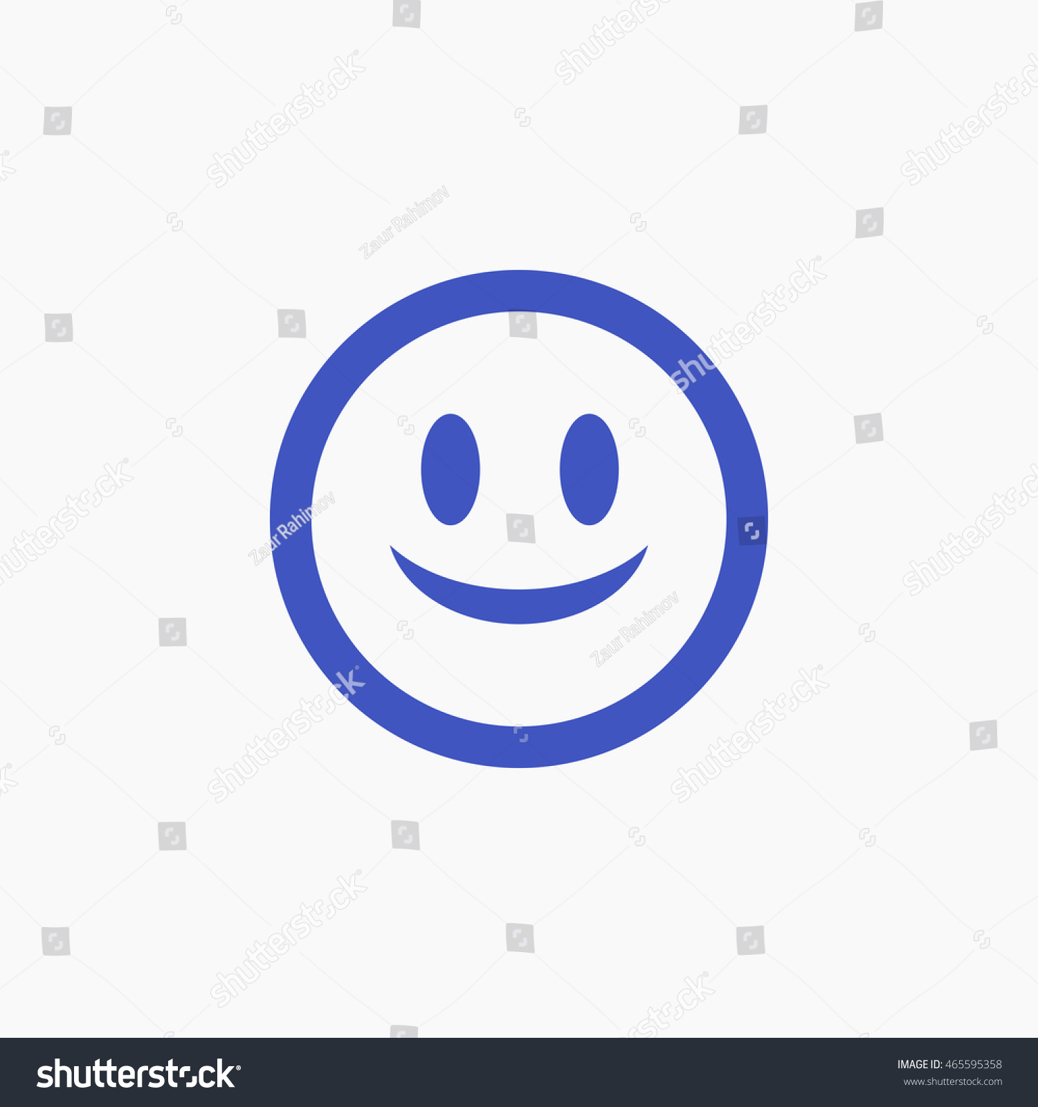 Facebook smile emoji icon vector head stock vector 465595358 facebook smile emoji icon vector head graphic social media user interface sign flat buycottarizona Images