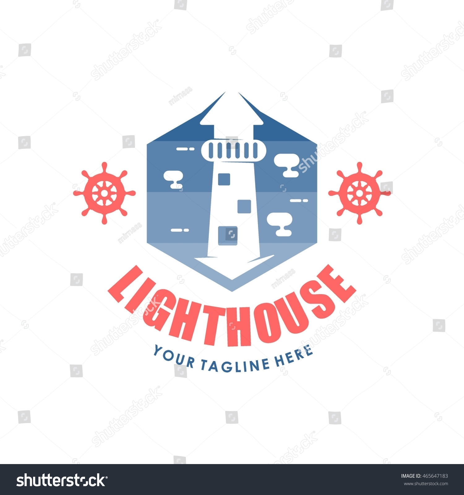 Lighthouse Business Card Template By how to read hvac wiring diagrams