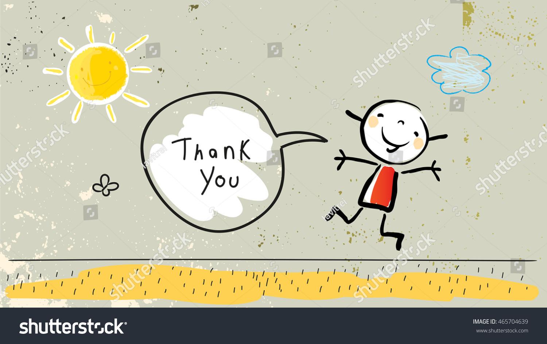kids thank you card