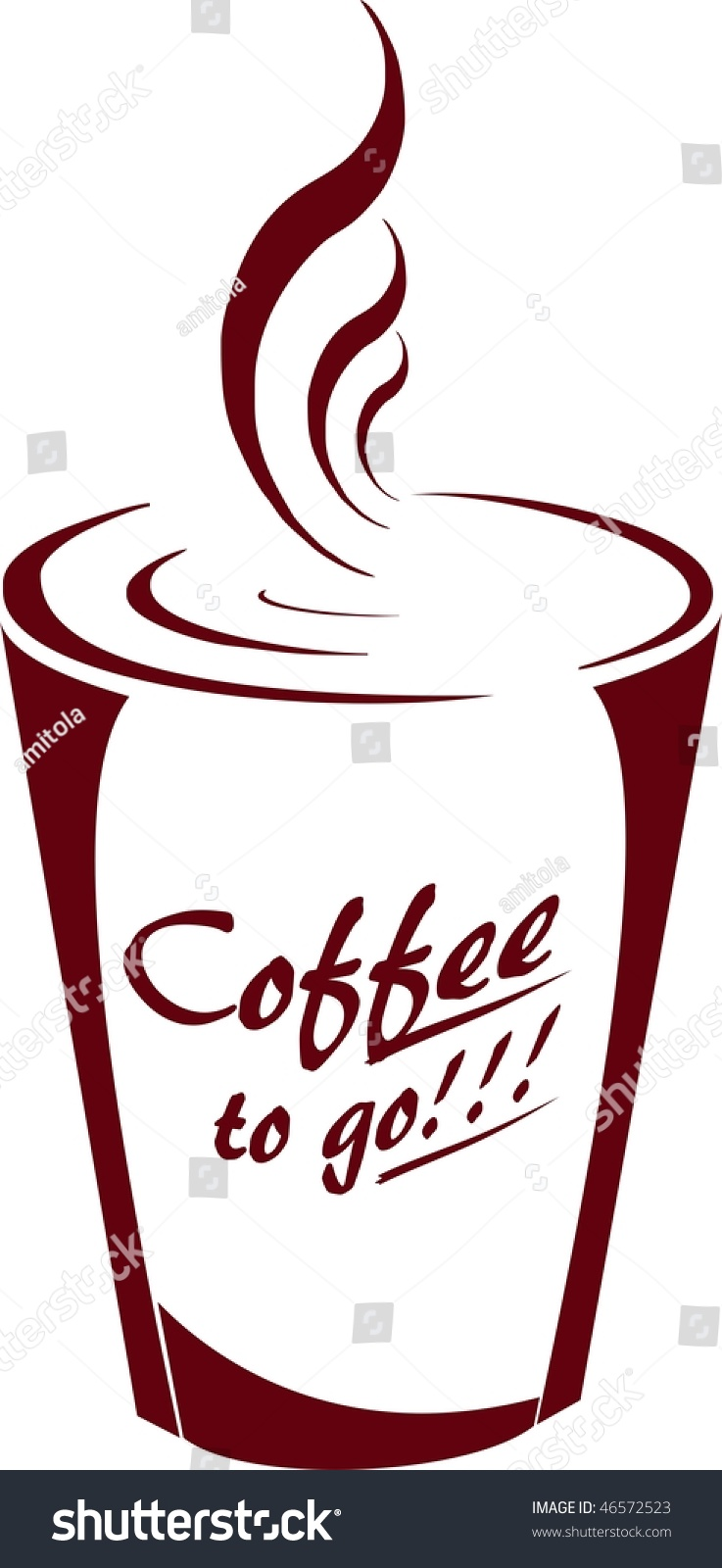 Coffee to go stock foto 46572523 shutterstock for Coffee to go