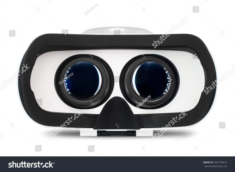 virtual reality glasses vr goggles simulation stock photo 465778415 shutterstock. Black Bedroom Furniture Sets. Home Design Ideas