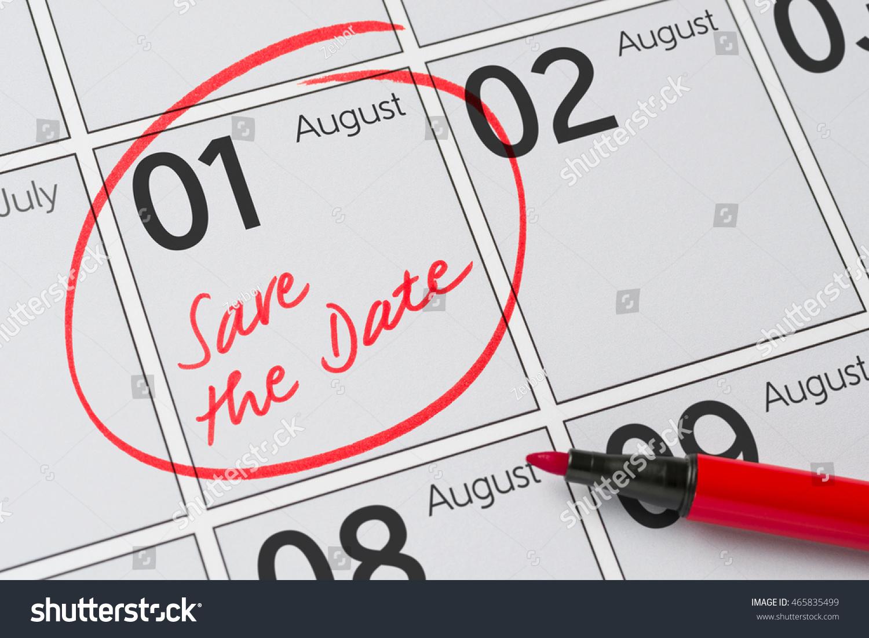 October 2017 Calendar Save The Date