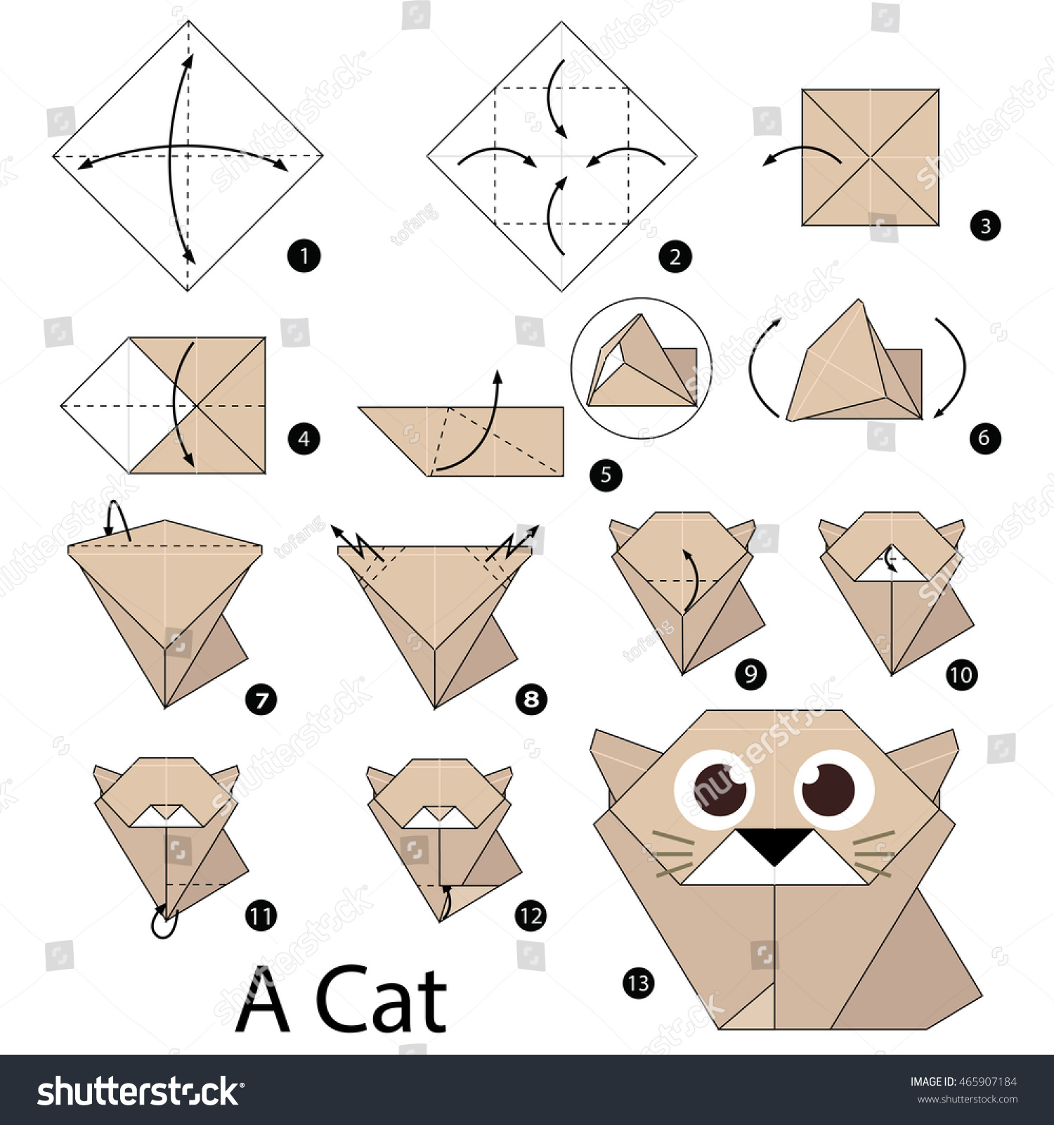 step by step origami cat 28 images origami learn how
